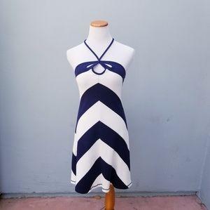 Anthropologie Saturday Sunday Pique Striped Dress